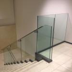 glazen trapleuning