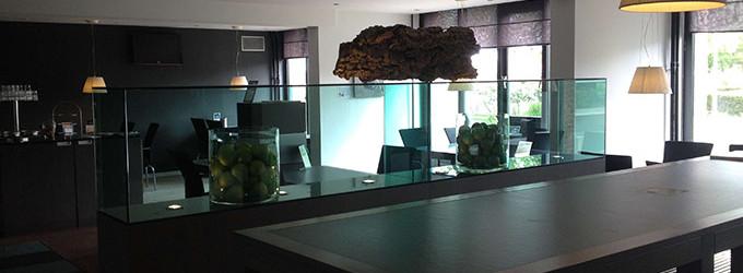 Woning archieven glaswerken mathieu for Binnenhuis trappen