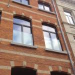 glazen valbeveiliging raam