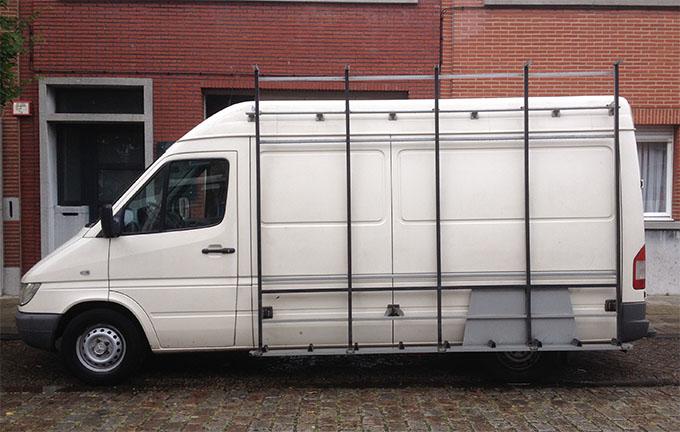 glazenmaker camionette