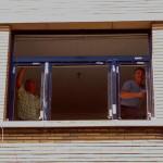 plaatsing PVC raam