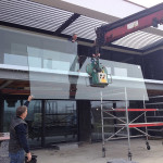 plaatsing glazen balustrade