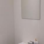 spiegel in toilet