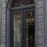 voordeur met glas